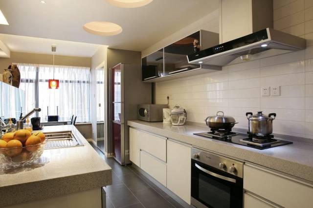 小面积厨房装修效果图